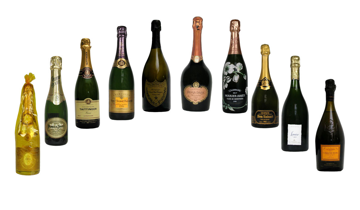 Champagne-Through-the-Years