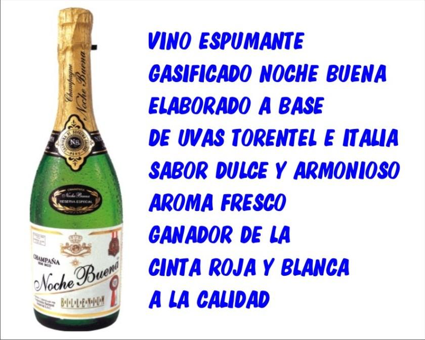 champan nochebuena