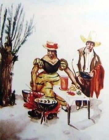 Image result for anticuchera pancho fierro